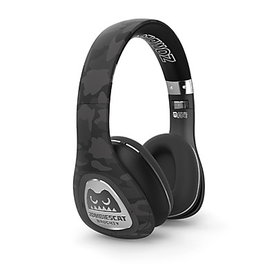 스마트 폰을위한 마이크 meki 좀비 블루투스 무선을 통해 귀 스테레오 헤드폰 무선 / 유선 헤드셋