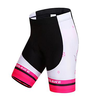 WOSAWE מכנס קצר מרופד לרכיבה בגדי ריקוד נשים אופניים שורטים (מכנסיים קצרים) מרופדים מכנסיים קצרים תחתיות בגדי רכיבת אופניים ייבוש מהיר