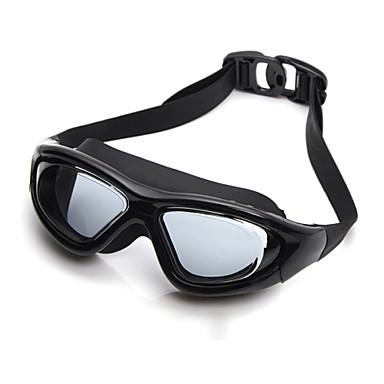 YUKE משקפי שחייה לנשים / לגברים / יוניסקס נגד ערפל / עמיד למים / גודל מתכוונן / אנטי-UV / לנפץ הוכחה סיליקה ג'ל PC שחור / כסף כחול / שקוף