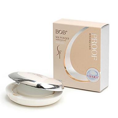 1 Powder Wet / Mat / Mineral Pressed powder Izbjeljivanje / Dugo trajanje / Prirodno Lice Natural / Kristalne Zhejiang MJ