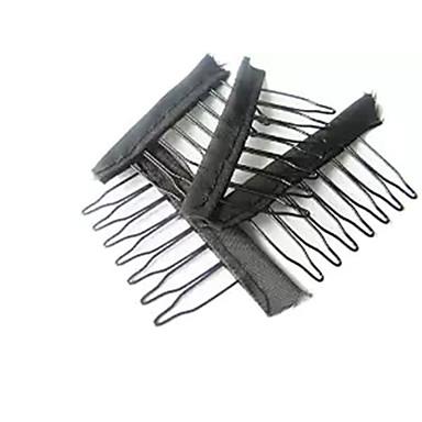 Parykkhetter Klips Klips Beskyttelsesskjold til hodebunnen Parykk Tilbehør Parykker hår verktøy