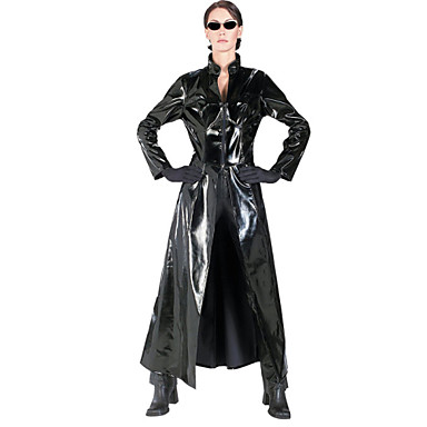 Cosplay Nošnje Kostim za party Cosplay Festival/Praznik Halloween kostime Crn Jednobojni Haljina Halloween Karneval New Year Uniseks Krzno