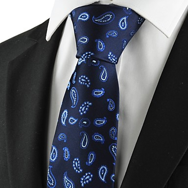 Gravata(Azul,Poliéster)Estampado
