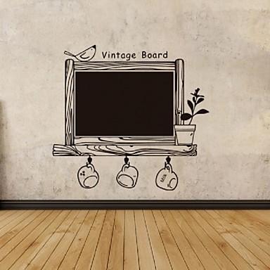 Tiere Menschen Stillleben Romantik Mode Formen Retro Feiertage Cartoon Design Freizeit Fantasie Wand-Sticker Tafel Wandsticker Dekorative