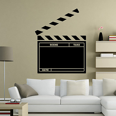 Cartoon Design / Worte & Zitate / Romantik / Tafel / Mode / Feiertage / Landschaft / Formen / Fantasie Wand-Sticker Tafel Wandsticker,PVC