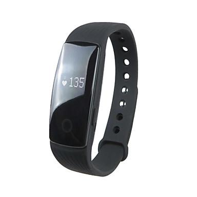 H9 Smartarmbånd Aktivitetsmonitor Kalorier brent Pedometere Pulsmåler Vekkerklokke Stopur Søvnsporing Stoppeklokke Bluetooth 4.0iOS