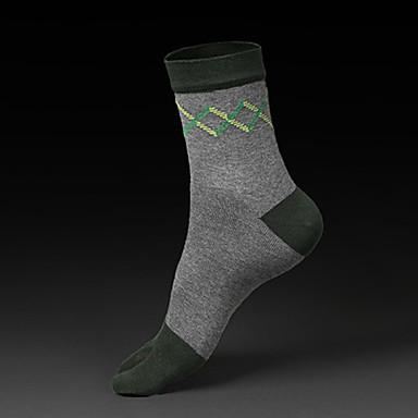 Herrn Socken Yoga Pilates Golfspiel Fussball Radsport / Fahhrad LeisureSports Fitness Laufen Atmungsaktiv Reibungsarm Schweißableitend -
