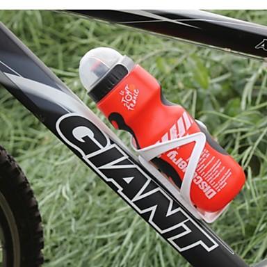 Wasserflaschen Tragbar Freizeit-Radfahren / Radsport / Fahhrad / Kunstrad Synthetik Gelb / Rot / Blau - 1pcs