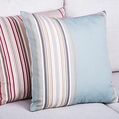 Polyesteri Tyynynpäälinen,Raidoitettu Moderni/nykyaikainen / Rento / Toimisto/työ