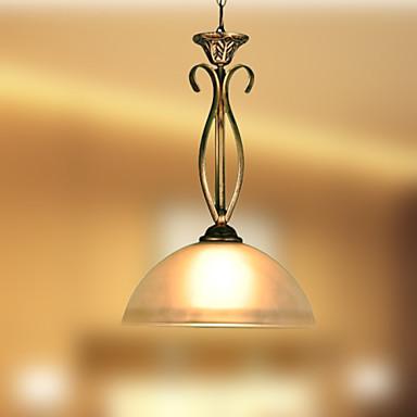 וינטאג' LED מנורות תלויות תאורה כלפי מטה עבור סלון חדר שינה מטבח חדר אוכל משרד חדר ילדים חדר משחק חניה 110-120V 220-240V נורה אינה כלולה