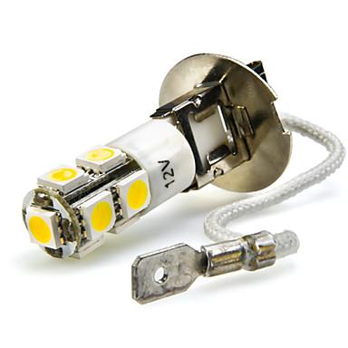 2pcs H3 Bilar Glödlampor 7W SMD 5050 680lm 7 LED Dimljus