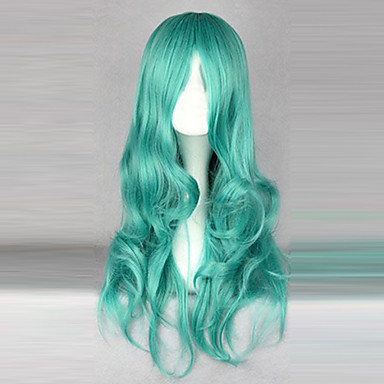 Cosplay-Peruukit Sailor Moon Sailor Neptune Anime Cosplay-Peruukit 65 CM Heat Resistant Fiber Naisten