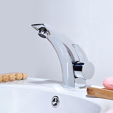 Kylpyhuone Sink hana - Termostaatti Kromi Integroitu Yksi kahva yksi reikä