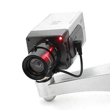 CCTV sikkerhet trygt kamera oss med skrue svart sølv