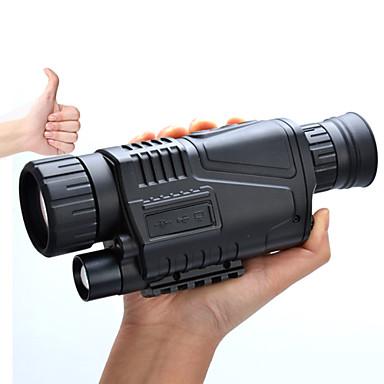 5-8X40 Monokulær Night Vision Goggles Militær Militær Jakt Generelt bruk BAK4 Fullstendig flerbelagt 5*3.75 Sentralt fokus