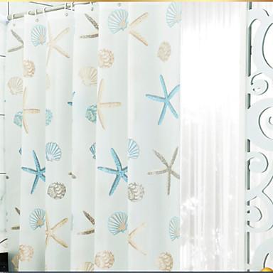 Duschvorhänge Modern PEVA Geometrisch Maschinell gefertigt