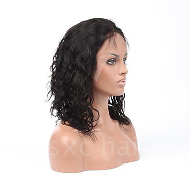7a pune čipke ljudske kose perika za crne žene Brazilski kosa perika labav kovrčava čipke sprijeda ljudske kose perika glueless