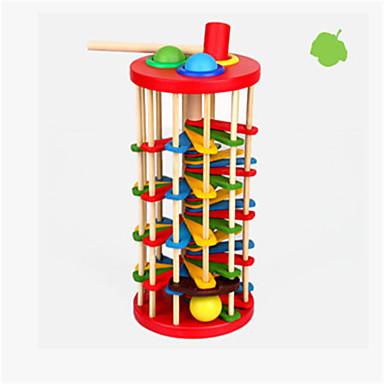 lasten puinen väri knock pallo pudota tikkaat vauva väri kognitiivisia 2-3-5 vuotias