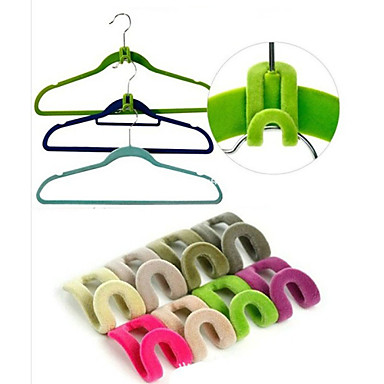 3d tilaa säästävä ripustin taika vaatteita ripustin koukku kaapissa järjestäjä (10kpl)
