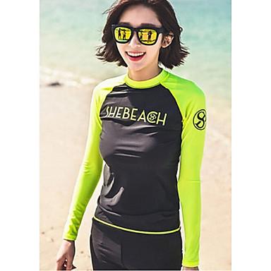 Naisten Märkäpuvut Dive Skins Kokokehon märkäpuku Vedenkestävä Ultraviolettisäteilyn kestävä Pehmeys Full Body Elastaani Chinlon LYCRA®