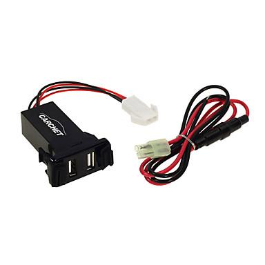 스즈키에 대한 자동차 2.1A 듀얼 USB 포트 소켓 휴대 전화 충전기 + 오디오 입력