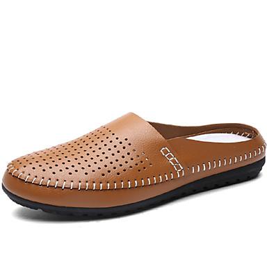 Muškarci Proljeće Ljeto Jesen Zima Udobne cipele Umjetna koža Aktivnosti u prirodi Ležeran Crna Plava Žuta Bijela