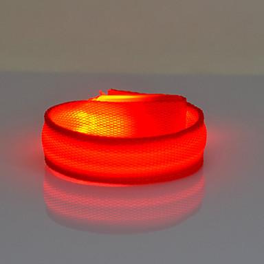Refleksbånd sikkerhets reflektorer Joggearmbånd med LED Nattsyn til Sykling-