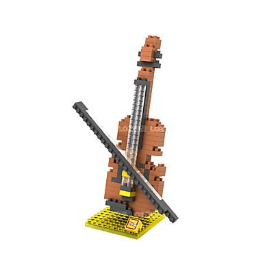 Blocos de Construir Instrumentos de brinquedo Brinquedos Violino Instrumentos Musicais Bateria Para Meninos Para Meninas 160 Peças
