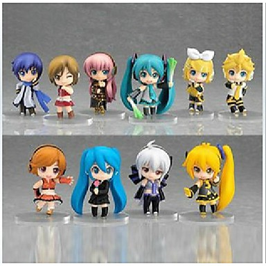 Figuras de Ação Anime Inspirado por Vocaloid Hatsune Miku PVC CM modelo Brinquedos Boneca de Brinquedo