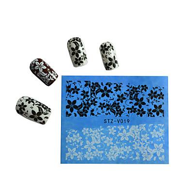 10pcs Nail Art tarra Vesi Siirto Tarra Cartoon Lovely meikki Kosmeettiset Nail Art Design