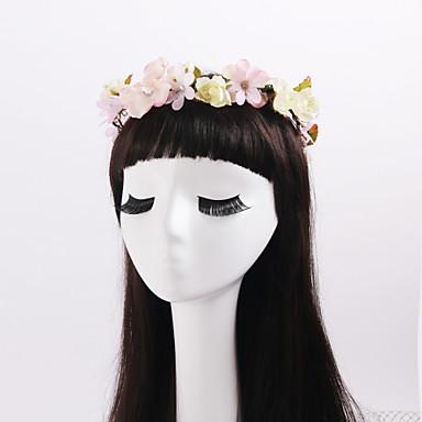 rhinestone fabric seppeleet headpiece klassinen naisellinen tyyli