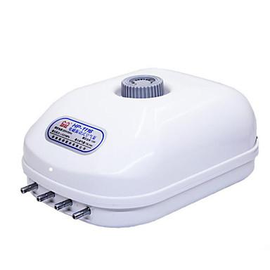אקווריומים משאבות אויר לבן פלסטיק 15W 220V/50Hz