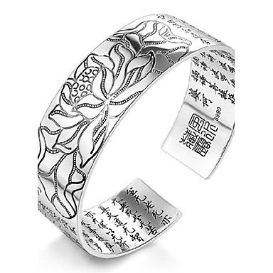 Damen Manschetten-Armbänder - Sterling Silber, versilbert Erste Schmuck Armbänder Silber Für Hochzeit
