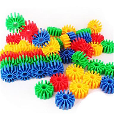אבני בניין לקבלת מתנה אבני בניין פלסטיק צעצועים