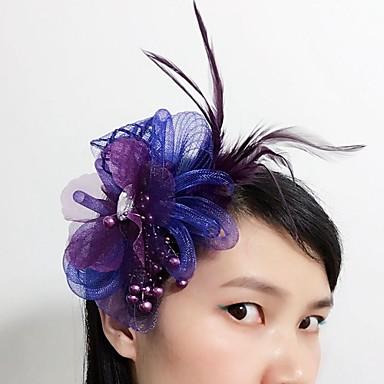 בגדי ריקוד נשים טול עור רשת כיסוי ראש-חתונה אירוע מיוחד קישוטי שיער