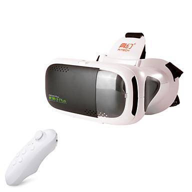 RITech 3plus virtuaalitodellisuus vr 3D-lasit + bluetooth ohjain valkoinen