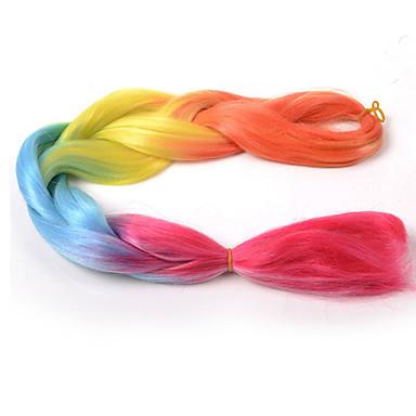צמות ג'מבו צמות שיער צמות Box 24