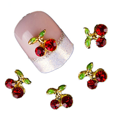 Finger-Frukt-3D Negle Stickers-Annen-10-10*6*1