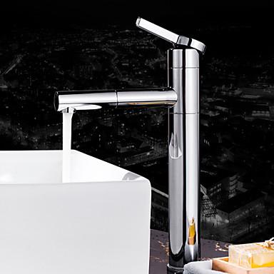 moderne montage soupape c ramique 1 trou mitigeur un trou chrome robinet lavabo de 4952340. Black Bedroom Furniture Sets. Home Design Ideas