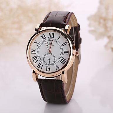 Herrn Armbanduhr Armbanduhren für den Alltag Leder Band Charme Schwarz / Weiß / Tianqiu 377
