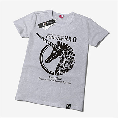 Inspiriert von Gundam Gundam Anime Cosplay Kostüme Cosplay-T-Shirt Druck Kurzarm T-shirt Für Unisex