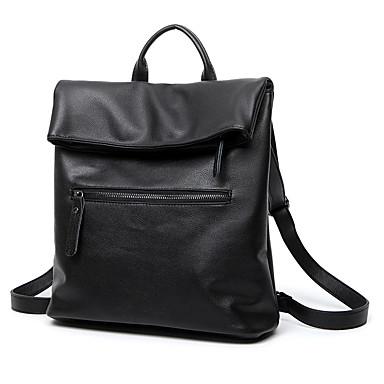 Damen Taschen PU Rucksack Reisetasche Schultasche für Einkauf Normal Draussen Ganzjährig Schwarz Grau Blau
