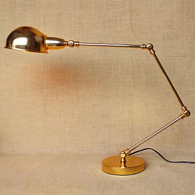 Íróasztali lámpa-Állítható karú-Modern/kortárs / Hagyományos/klasszikus-Fém