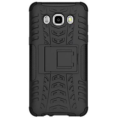 Para Samsung Galaxy Capinhas Antichoque Capinha Capa Traseira Capinha Armadura PC Samsung J7 / J5 (2016)