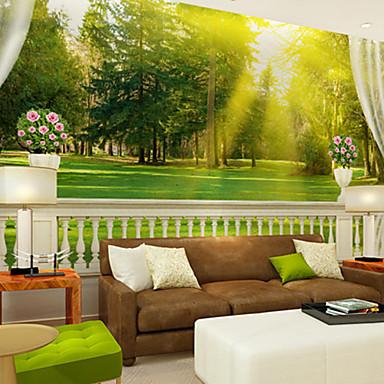 Bemalt Haus Dekoration Zeitgenössisch Wandverkleidung, Vinyl Stoff Klebstoff erforderlich Wandgemälde, Zimmerwandbespannung