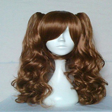 Synthetic Wig Wavy Natural Wave Capless Women's Costume Wig