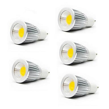 5 Вт. 3000/6500 lm GU10 GU5.3(MR16) E26/E27 Точечное LED освещение MR16 1 светодиоды COB Тёплый белый Холодный белый AC 85-265V