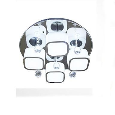 9W Mennyezeti lámpa ,  Gömb Festmény Funkció for LED FémNappali szoba / Hálószoba / Étkező / Dolgozószoba/Iroda / Gyerekszoba / Folyosó /