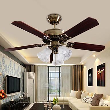 3-luz Ventilador de teto Luz Ambiente - Designers, 220-240V Lâmpada Não Incluída / 15-20㎡ / CE / E26 / E27