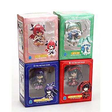 Anime Action-Figuren Inspiriert von Date A Live Cosplay PVC 10 CM Modell Spielzeug Puppe Spielzeug